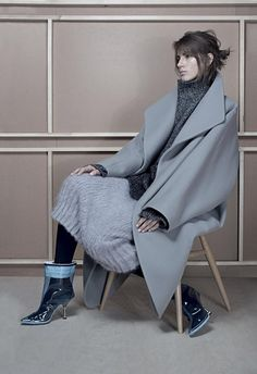 visual optimism; fashion editorials, shows, campaigns & more!: valery kaufman by anthony maule for flair january 2015
