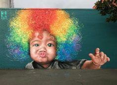 Street Art by Julian Calvijo, located in Benalla, Australia
