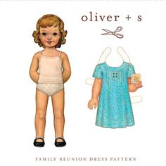 Oliver + S Family Reunion Dress Sewing Pattern