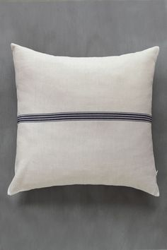 Perfect for the bedroom or living room. Pure fiber cotton and linen mix from Mungo. Natural Cushion Covers, Natural Cushions, South African Design, Gift Tree, Striped Cushions, Buffalo, Bed Pillows, Fiber, Textiles