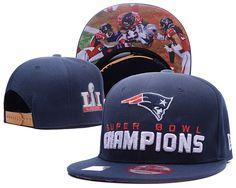 New England Patriots 2017 Super Bowl LI Champions Adjustable Hat Blue YD.  Lillianjerseys · NFL Patriots Snapback ... 3fd97f91a