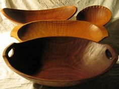 Dave Fisher - Carved bowls