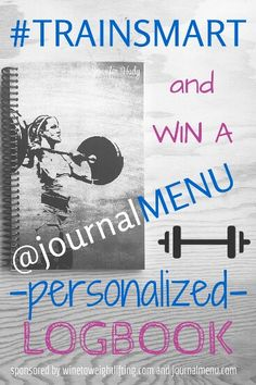 How do you log your workouts? Check or my review of the @journalmenu log book for Crossfit workouts and more! Win your own customized book tailored to your program and needs. Ends October 1!! #Crossfit #exercise #progress #trainsmart