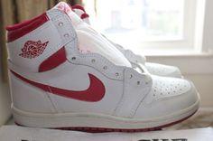 """21cd882afd90 The Air Jordan 1 """"Metallic Red"""" – Air Jordan Release Dates Sneaker Bar"""