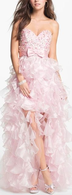 embellished chiffon pink gown- gorgeous!!!!!