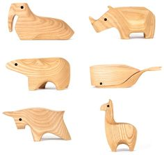 love the shapes of these animals!