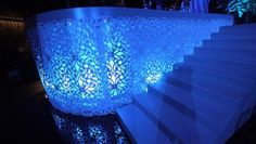 Pippas - Laser cut with backlighting - stairs