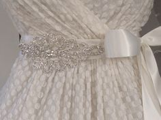 .   Favorite Like this item?  Add it to your favorites to revisit it later.  Crystal Wedding Dress Sash -- Rhinestone Wedding Dress Belt -- Asymmetrical - $45