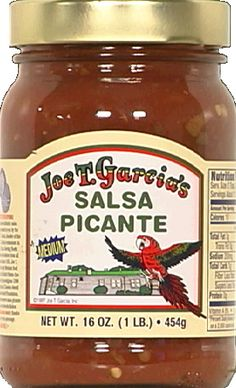 Joe T. Garcia's Salsa, Joe T. Garcia's Products, Fort Worth, Texas