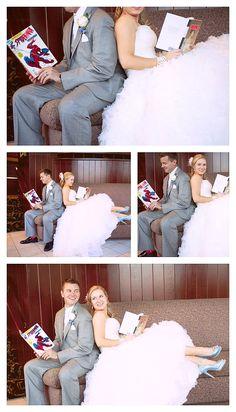 A Book Nerd Wedding by The Love Nerds #diywedding #bookcenterpieces #lovenerdevents