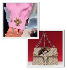 Detalhes no resee da Gucci (Foto: Reprodução/Instagram)