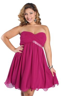 plus size a line sequin homecoming dress