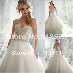 Dignified Sweetheart Beaded Bodice Organza Brush Train Plus Size Wedding  Dress-in Wedding Dresses from Weddings   Events on Aliexpress.com  bb50ad9e857a