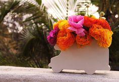 Flower Arrangements by Oh Joy!: Such a cute arrangement