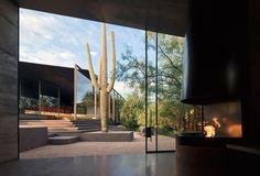Desert Courtyard House by Wendell Burnette Architects in the Sonoran Desert of Arizona