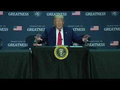 TRANSITION TO GREATNESS ROUNDTABLE: President Trump in Dallas, TX - YouTube We The People, Good People, Visit Dallas, Black Republicans, Feel Good Stories, Current President, Video News, American Horror Story, News Stories