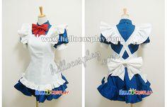 Sew it! Battle Vixens Ikkitosen Cosplay Ryomou Shimei Maid Dress