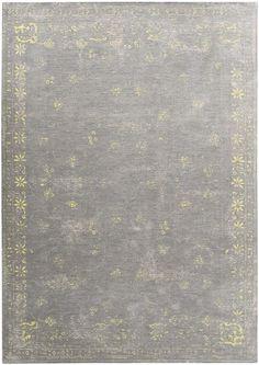 Louis De Poortere Cameo in Fedra Grey Flannel