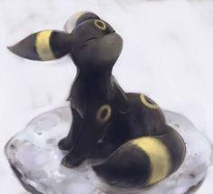 Umbreon - life is beautiful - eevee evolution - dark type