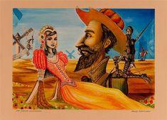 A)Ella era de un pueblo cercano. B)Ella en realidad se llamaba Aldonza Lorenzo. C)Él es el Caballero de la Triste Figura. El Quijote y Dulcinea del Toboso