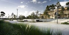 Pirrama Park, by ASPECT Studios, in Pirrama Rd, Pyrmont, Sydney, Australia.
