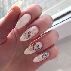 Easy to try nail trends, look here is enough - Page 50 of 140 - Inspiration Diary Edgy Nails, Grunge Nails, Stylish Nails, Trendy Nails, Swag Nails, Square Acrylic Nails, Almond Acrylic Nails, Best Acrylic Nails, Picasso Nails