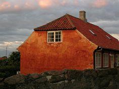 House in Svaneke, Bornholm, Denmark
