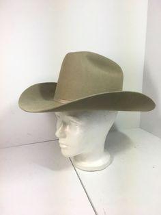 John B Stetson 5X XXXXX Beaver Felt Western Cowboy Hat Sz 7 Tan  fashion   be5b1a9f41d7