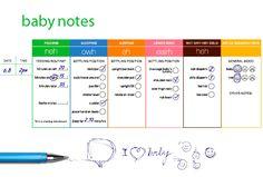Free Download-Baby Journal  From Dunstan Baby Language-Brilliant!!! Dunstan Baby Language, Baby Journal, Making Memories, Baby Hacks, Little Miss, Little People, Parenting, Positivity, Kids