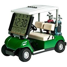 LCD display Mini Golf Cart clock Race souvenir novelty golf gifts