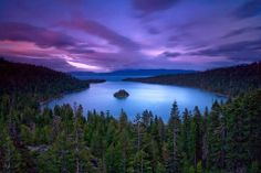 Emerald Bay Lake Tahoe, one of my favorite places. South Lake Tahoe, Lago Tahoe, Emerald Bay Lake Tahoe, Emerald Lake, Beautiful Places In The World, Great Places, Places To See, Amazing Places, Clearwater Beach