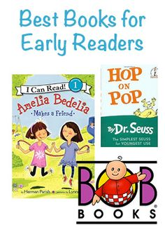 The Best Books for Early Readers - 3 wonderful book series that propel your little one to read! via @Busy Mommy Media | @Right Start Blog