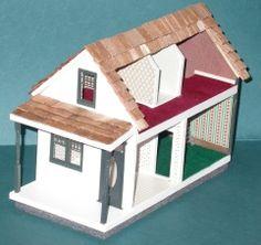 Litchfield+1/4+Dollhouse+Kit+-+$73.00+:+Miniature+Dollhouses+&+Doll+House+Supplies+ +Earth+&+Tree+Miniatures+&+Dollhouses