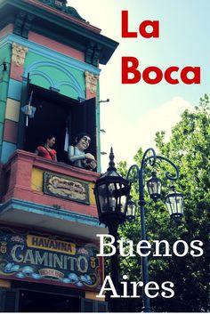 Caminito - La Boca - a colourful barrio of Buenos Aires where tango and immigrant traditions live.