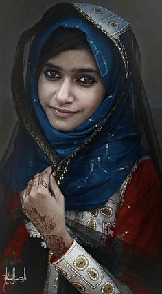 A beautiful Face from Oman