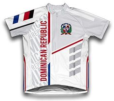 Dominican Republic ScudoPro Short Sleeve Cycling Jersey for Women  Size XS -- More info could be found at the image url.Note:It is affiliate link to Amazon. #fun