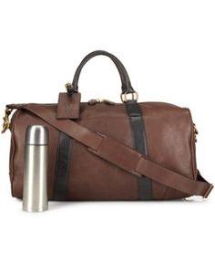 Polo Ralph Lauren Two-Toned Leather Duffel Bag Men - All Accessories -  Macy s 096d0977e7