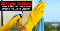 Learn how to prepare a homemade, streak-free glass cleaner without toxic chemicals such as 2-Butoxyethanol. Some 32 oz. bottles of window cleaner by big companies cost about 4 dollars. The ingredients of a 32 oz. bottle of homemade window cleaner costs 12 cents. This post teaches you in 6 steps...