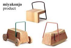 Wooden Rocker, Chair, Car