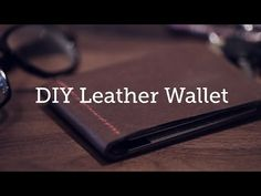 Quality leather wallets can be pricy. Instead of purchasing one, grab some scrap leather and use this guide to make your own.