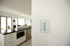 Modern light switches for great style.