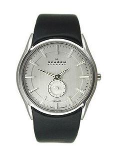 Skagen Black Label 2-Hand with Sub-Second Dial Men's watch #808XLSLBC Skagen. $149.00. Save 28% Off!