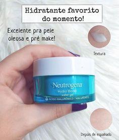 O Hydro Boost da Neutrogena tem sido meu hidratante favorito do momento ✨ Ele tem textura em gel aquosa, você aplica na pele e some… Neutrogena, Beauty Care, Beauty Skin, Beauty Tips, Diy Beauty, Face Care, Body Care, Skin Care Spa, Skin Routine