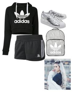 """""""Adidas"""" by natalielaine77 on Polyvore featuring adidas, adidas Originals and Topshop"""