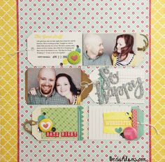 Scrapbooking with tags, with links to more - Becki Adams