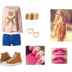 """nice & pink ♥"" by sofy-styles on Polyvore"