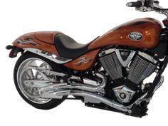 Motorcycle Chrome Horn For Victory Hammer 8-Ball Jackpot Arlen Ness Vegas