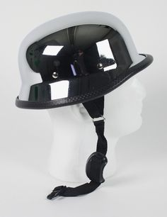 german chrome motorcycle helmet 29.95 free shipping#germanhelmet #motorcyclehelmet #motorcyclehelmets https://theleatherdropship.com
