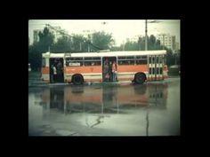 Cu tramvaiul prin Bucurestiul anilor `70. - YouTube