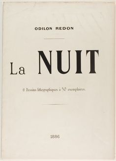 Odilon Redon - I'm sorry if I have so many of this kind, I just love this typography and how clean it is. Vintage Typography, Typography Letters, Graphic Design Typography, Lettering Design, Branding Design, Logo Design, Vector Design, Hand Lettering, Layout Design